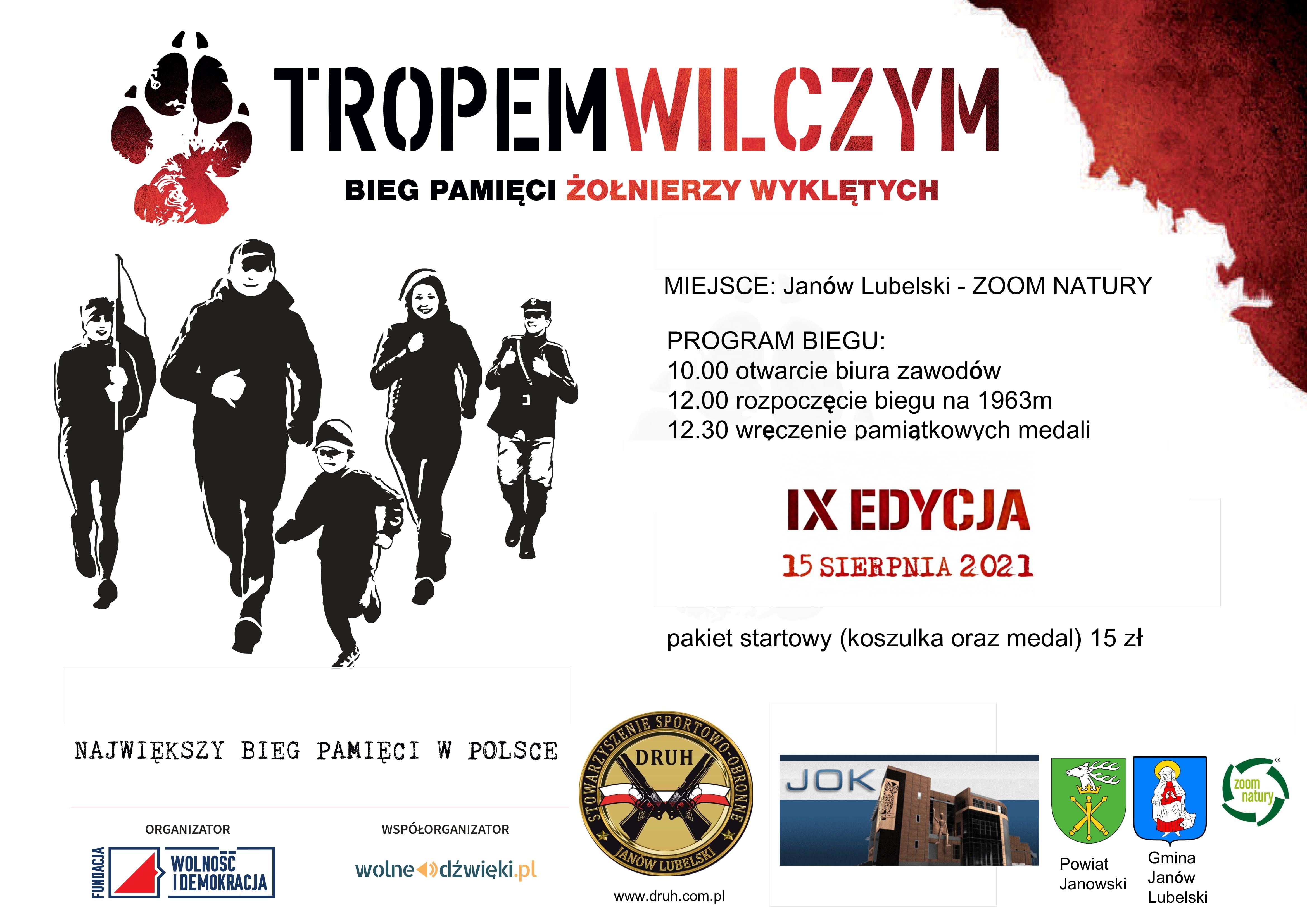plakat TROPEM WILCZYM-1
